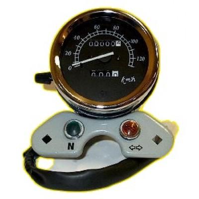 Compteur mécanique à aiguilles diamètre 90mm