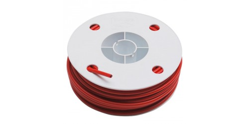 Universal red cable sheath flat section