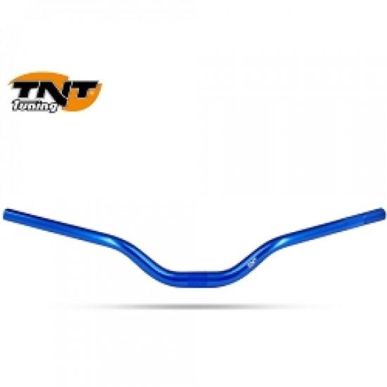 Guidon cross TNT oversize bleu pour scooter