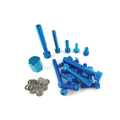 Body screws kit Yamaha BWS R 1990/2002 blue