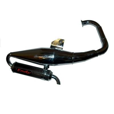Exhaust ENDY Racing chrome 50 cc BWS R 1990/2002