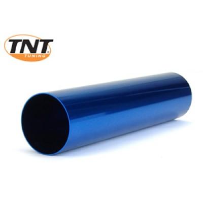 Blue aluminum tube for exhaust TNT