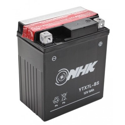 Battery maintenance free YTX7L-BS