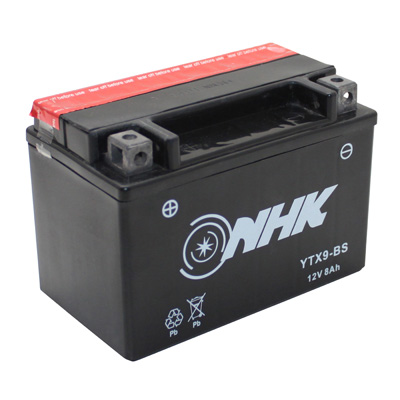 Battery maintenance free YTX9-BS
