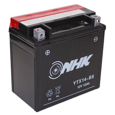 Battery maintenance free YT14-BS