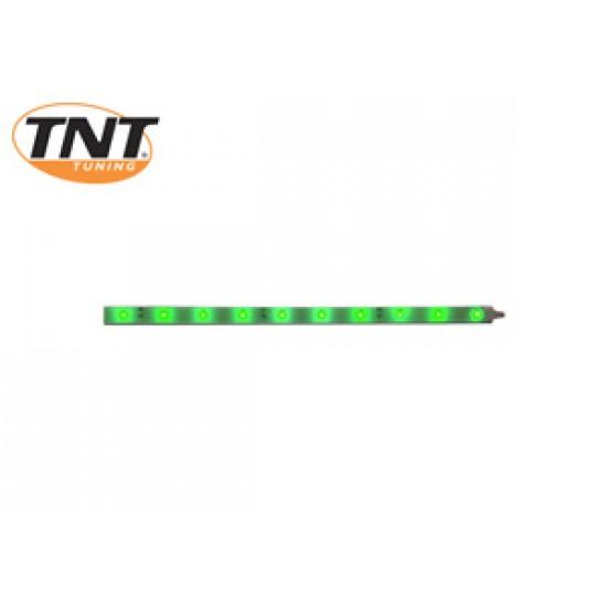 Bande de LED vert 25 cm