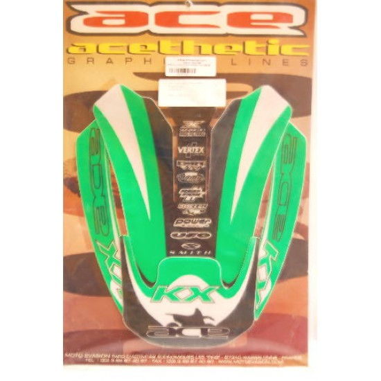 Graphic fender sticker Kawasaki KX 125/250 - 99-01
