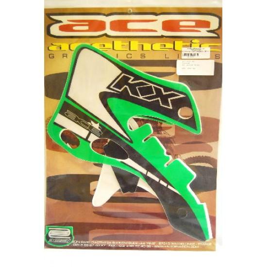 Autocollant graphique de réservoir Kawasaki KX 125/250 - 99-01