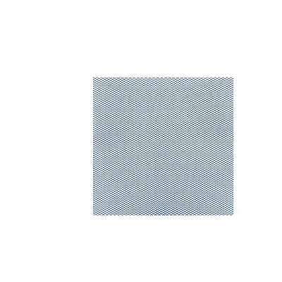 Grille décorative bleue 30x30 cm